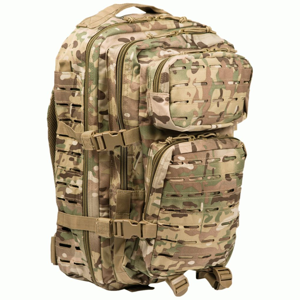Рюкзак Mil-Tec US Assault 36L Laser CUT Multicam