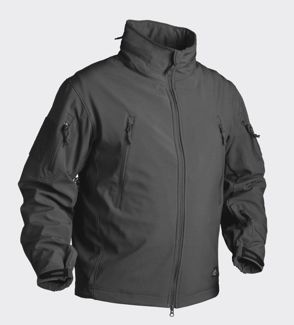Куртка тактическая GUNFIGHTER Helikon-Tex Soft Shell black