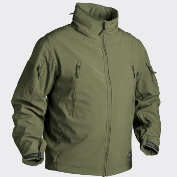 Куртка тактическая GUNFIGHTER Helikon-Tex Soft Shell Olive