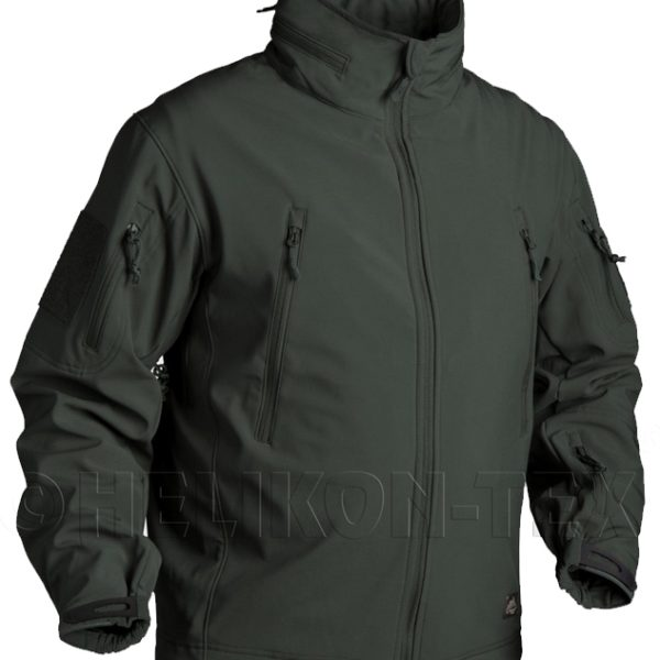 Куртка GUNFIGHTER Helikon-Tex Soft Shell Jungle green