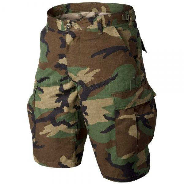 Шорты тактические Helikon-Tex® BDU Shorts CR woodland