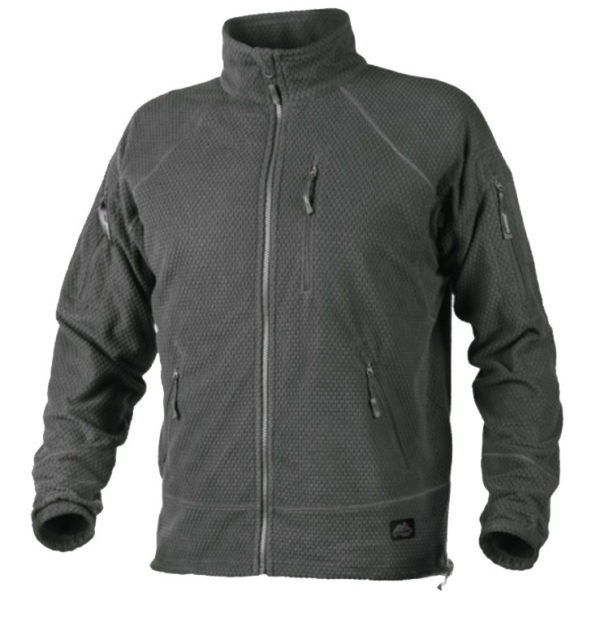 Куртка флисовая ALPHA TACTICAL Helikon-Tex Grid Fleece Shadow gray