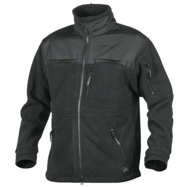Кофта флисовая Helikon-Tex  DEFENDER QSA HID Duty Fleece черная