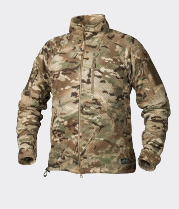 Куртка ALPHA TACTICAL Helikon-Tex Grid Fleece Multicam