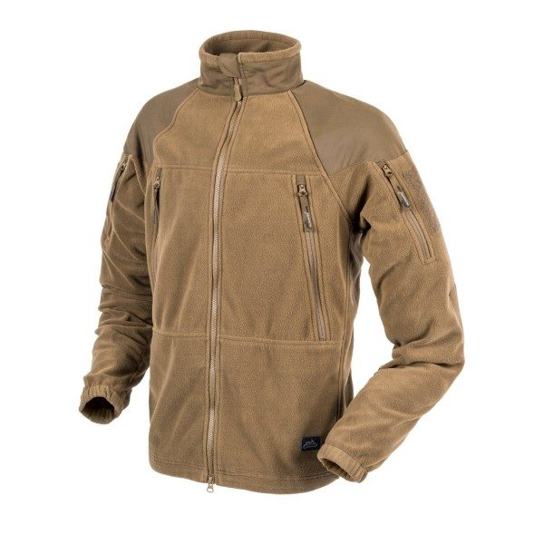 Куртка флисовая Helikon-Tex® STRATUS® Jacket Heavy Fleece Койот