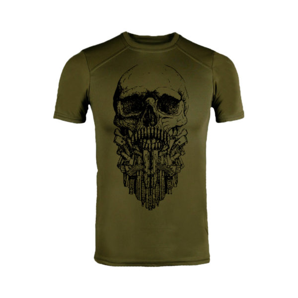Футболка военная COOLMAX TACTICAL BEARD